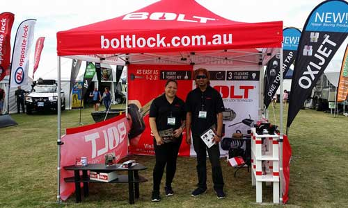 BOLT Lock at Explore Australia Expo