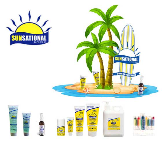 Sunsational Body Care Sunscreen