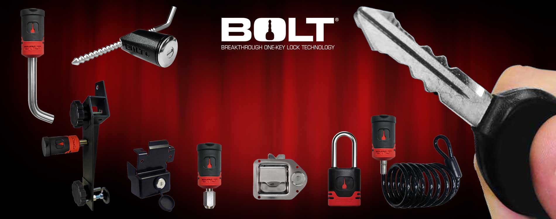 Bolt Lock Self-Keying Locks