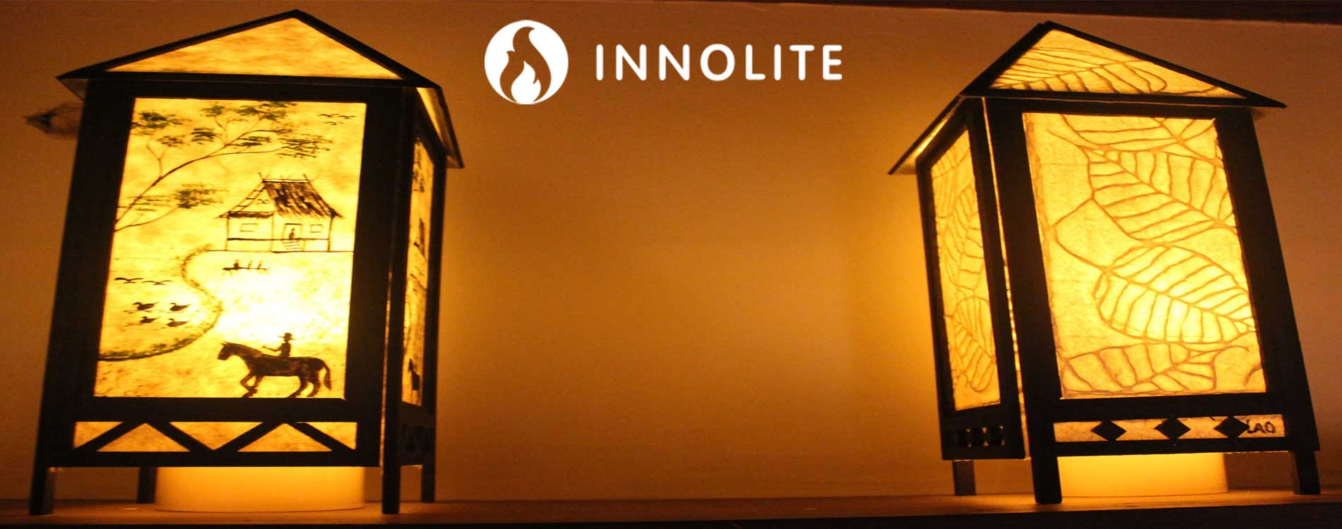 Innolites Flameless Flickering LED Wax Candles